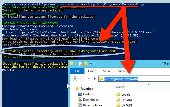 Chocolatey Software Docs Ubiquitous Install Directory Option Pro